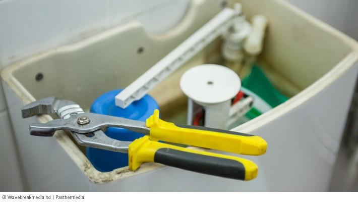Turbo Kleinreparatur - Defekt am WC-Spülkasten, Toilettenspülung MM42