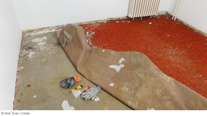 Fußboden Teppich Laminat ~ Bodenbelag mietwohnung abgenutzt teppichboden laminat pvc